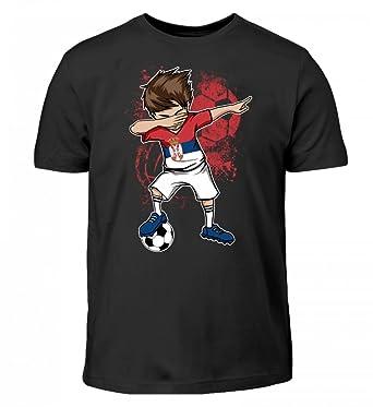 Spanien WM 2018 Kinder T-Shirt Schwarz Trikot Fußball Nr ALL 10