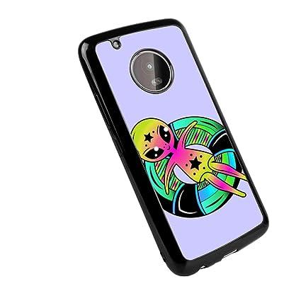 Amazon.com: Motorola Moto G5 Plus Alien Lifebuoy Soft Phone ...