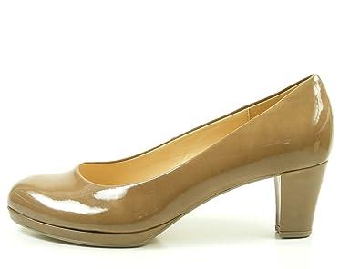 Gabor 71-260 Schuhe Damen Lack Pumps Weite F