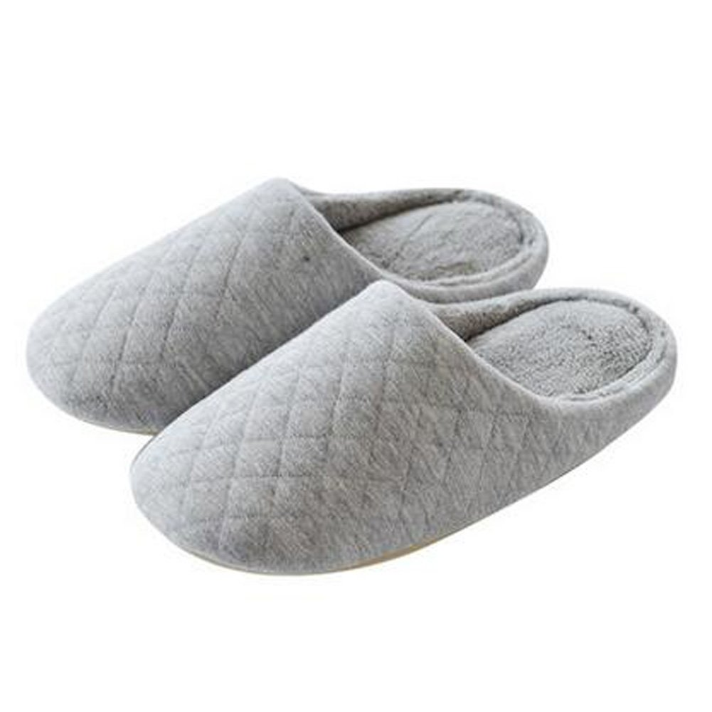 Japanese Ladies Winter Warm & Cozy Indoor Shoes House Slipper, Gray Kylin Express