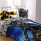 Transformers Motorized Twin Comforter & Sheet Set (4 Piece Bedding)