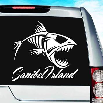Darwin Fish Silver Car Emblem