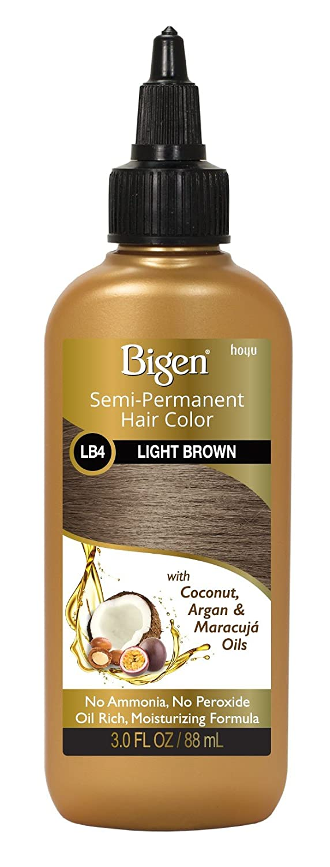Bigen Semi-Permanent Haircolor #Lb4 Light Brown 3 Ounce (88ml) (2 Pack)