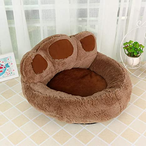 YYZ Cama de Perro, Forma de la Pata Material Suave y Transpirable para Cachorros y