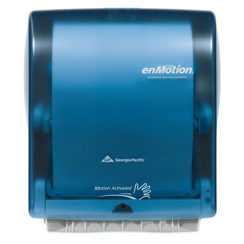 Georgia Pacific Enmotion 59460 Classic Automated Touchless Paper Towel Dispenser, Splash Blue