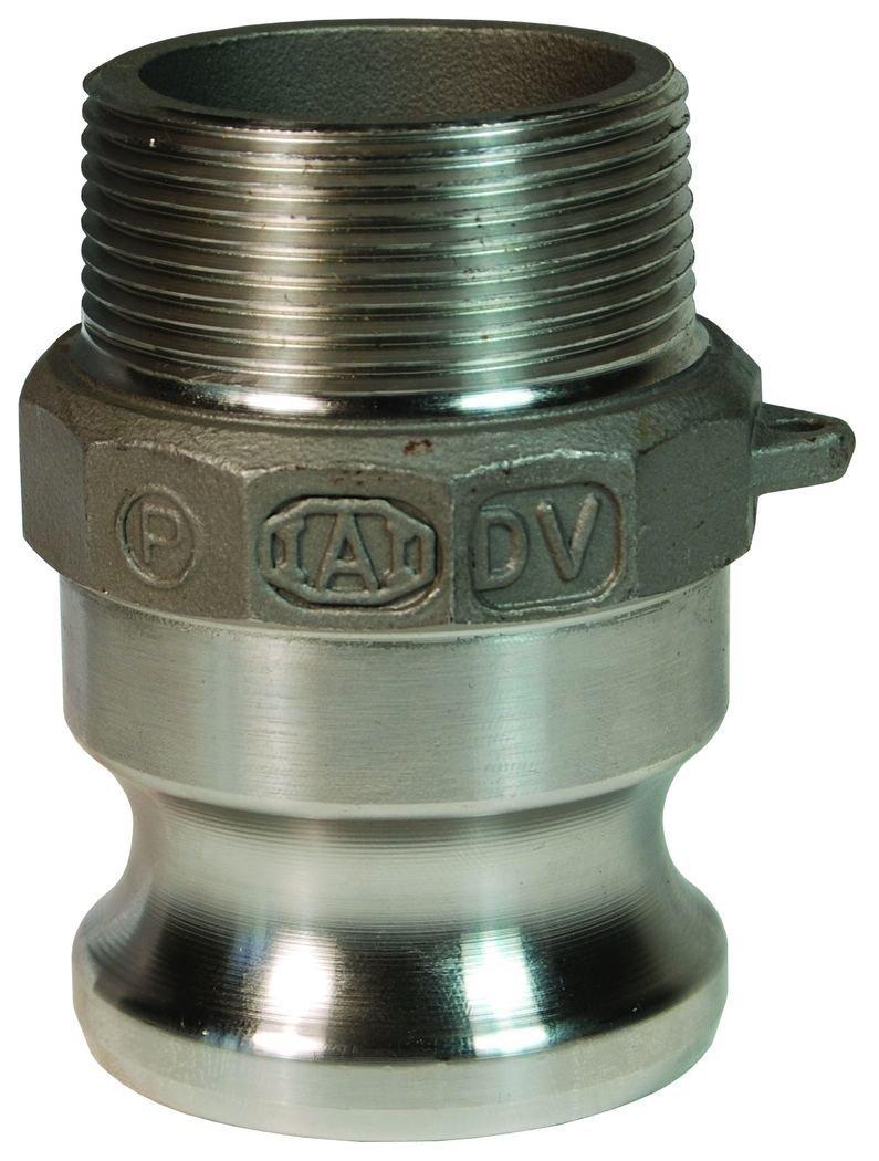 Dixon 100-F-HA Hastelloy Male NPT x Male Adapter, ASTM, A494, CW12MW, 1''