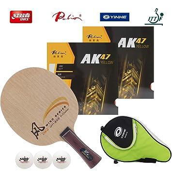 Amazon.com: DHS - Raqueta de tenis de mesa profesional ...