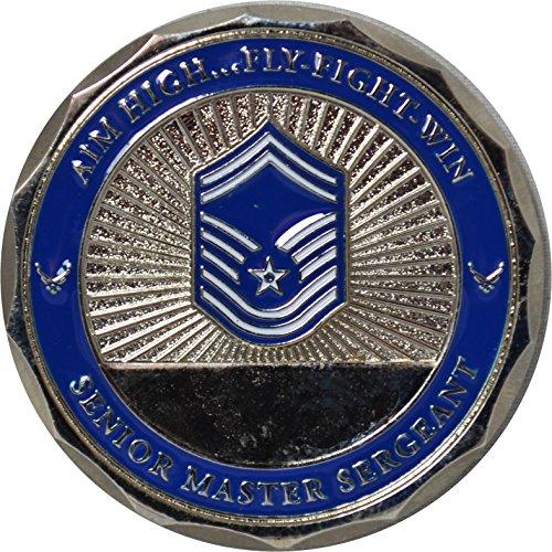 USAF Rank Senior Master Sergeant Challenge Coin