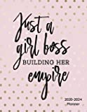 Just A Girl Boss Building Her Empire 2020-2024 Planner:: 2020-2024 Daily, Monthly, Organizer, Appointment Scheduler, Personal Journal, Logbook, 60 Months Planner Calendar....