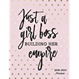 Just A Girl Boss Building Her Empire 2020-2024 Planner:: 2020-2024 Daily, Monthly, Organizer, Appointment Scheduler, Personal
