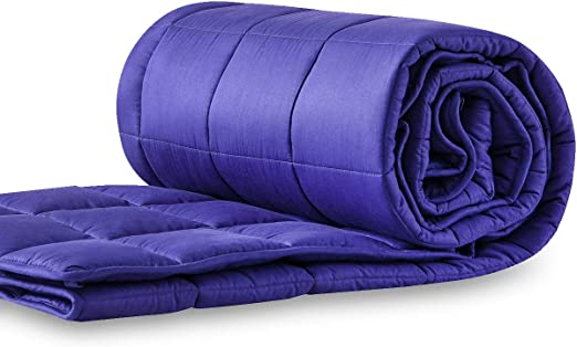 Premium Queen Size Gravity Blanket for Adult Weighted Blanket 15 lbs 60/'/'x80/'/'
