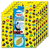 Thomas the Train Stickers Party Favors ~ Set of 2 Sticker Packs ~ 16 Sheets Over 380 Stickers plus Bonus Reward Stickers! by Thomas & Friends