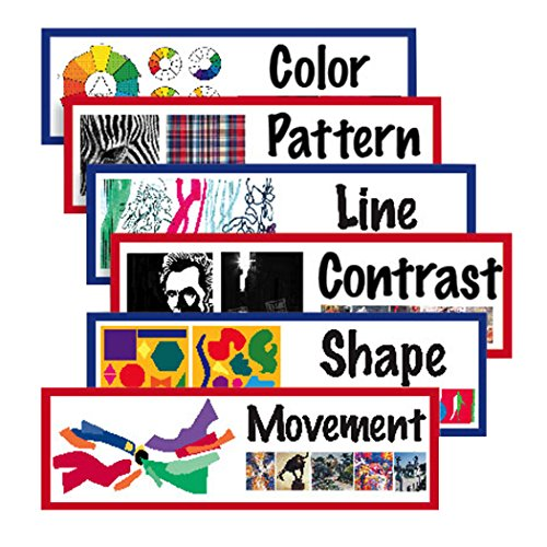 AMEP AEPCP1823 Elements Principles Art Display Cards, 18