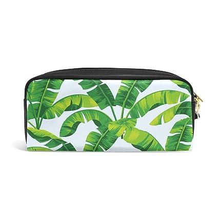 cf6775a83a38 Amazon.com : ABLINK Stylish Tropical Hawaiian Banana Leaves Pencil ...