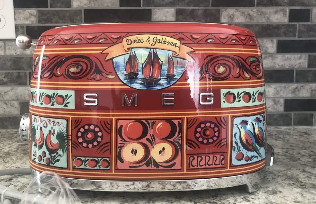 Smeg Dolce & Gabbana Toaster 2 slicer (multi)