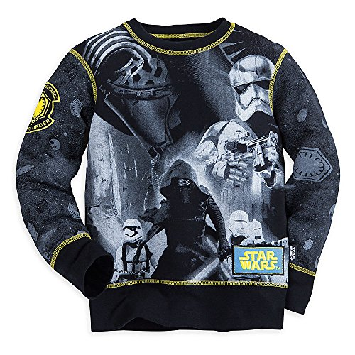 Star Wars Boys The Force Awakens Long Sleeve Sweatshirt 7/8