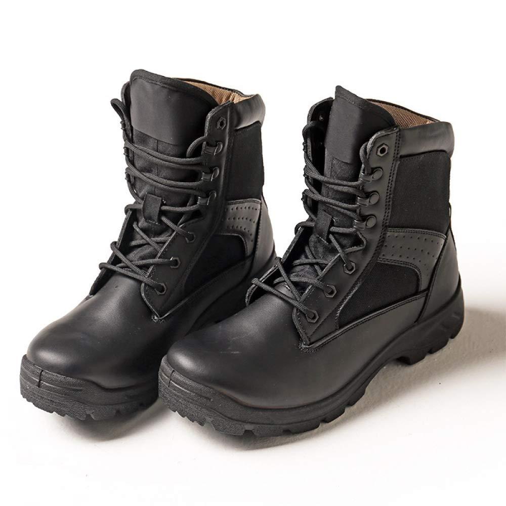 QIKAI Militärstiefel Männer Für Männer Militärstiefel Warme Ultraleichte Taktische Trainingsstiefel Atmungsaktive Schutzstiefel Für Den Außenbereich Wanderschuhe ac0f44