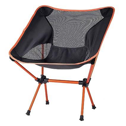 Anay Las sillas Plegables portátiles ultraligeras al Aire ...