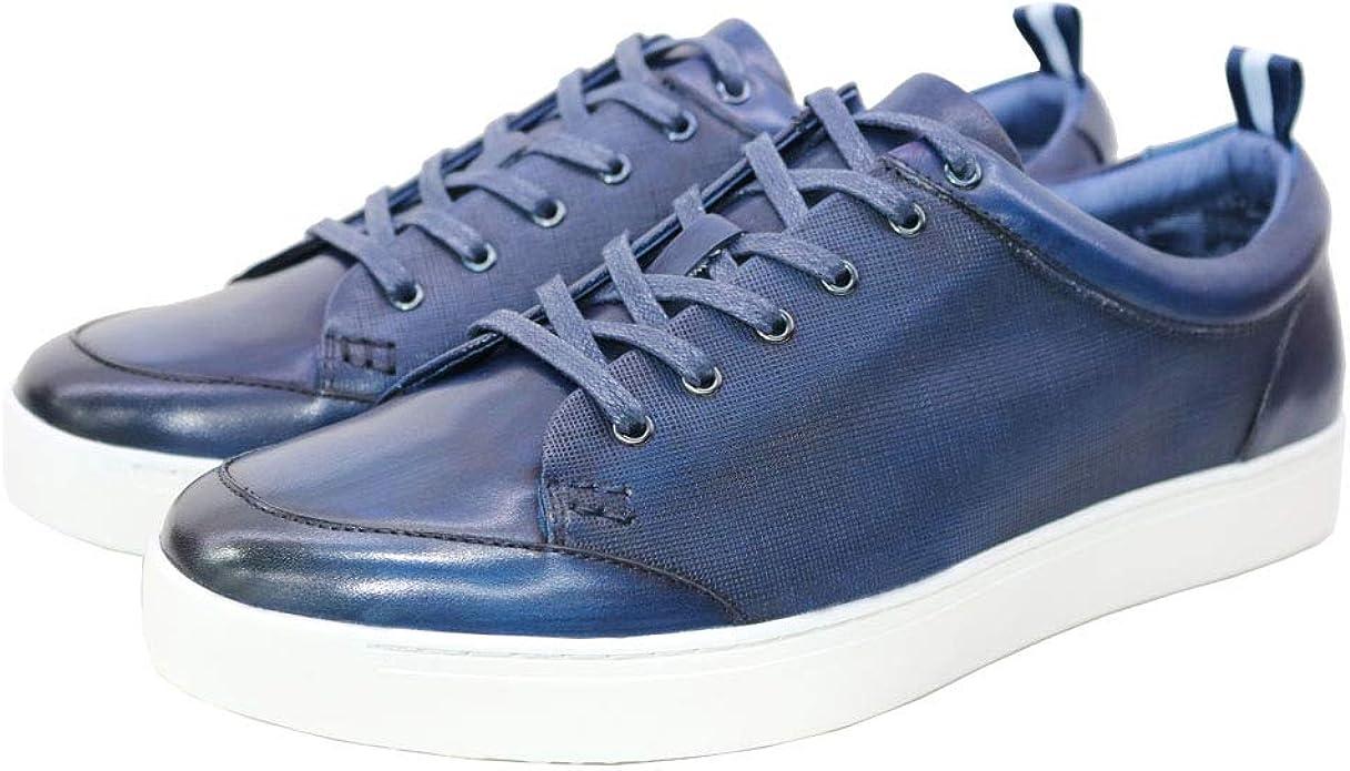 Unique Embossing Oxford Fashion Sneaker