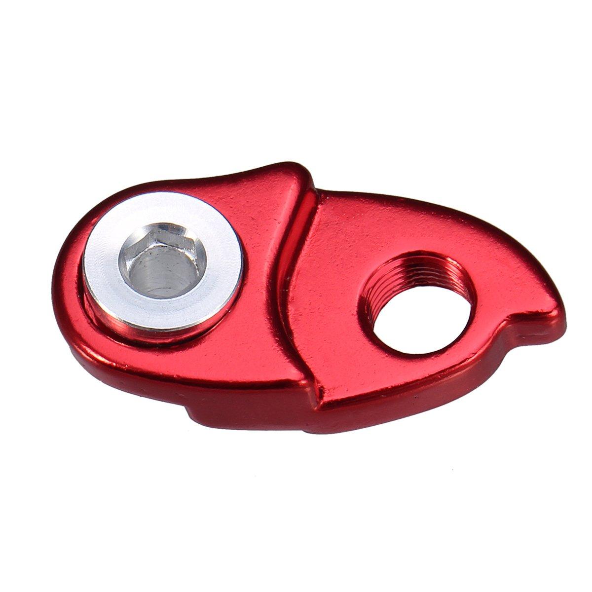 con adaptador de extensi/ón para cassette de bicicleta Shimano 40 T 46 T 42 T rojo Gancho trasero para cambio de marchas de bicicleta de monta/ña o carretera 50 T; de la marca VORCOOL