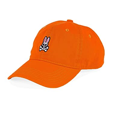 Psycho Bunny Sunbleached Cap Nasturtium at Amazon Men s Clothing store  065beb53e28