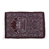 monque Rugs Velvet Thick Fabric Classic Islam Mat Multi Color Turkish Carpet Salat Islamic Muslim Prayer For Sale