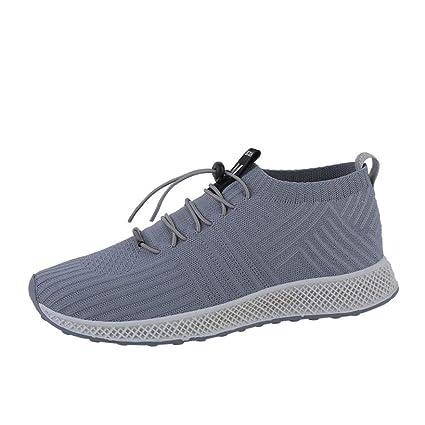 ZHRUI Deportes Zapatos al Aire Libre Hombres Mujeres, Entrenadores Pisos Chanclas Chanclas Alpargatas Cuña Correr
