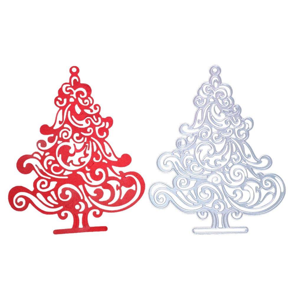 Amazon Com Wocachi Christmas Reindeer Metal Cutting Dies Card