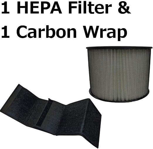 HEPA Plus Filter for Filter Queen Defender Air Purifier 360 AM4000 D360 w Wraps