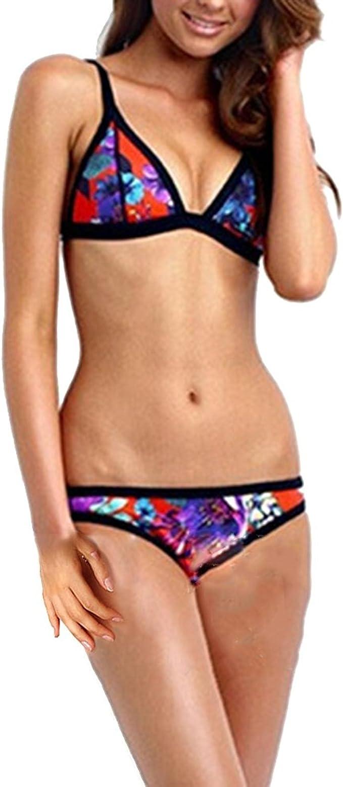 adidas Damen Neckholder Bikini Schwimmanzug Schwimmen  Badeanzug
