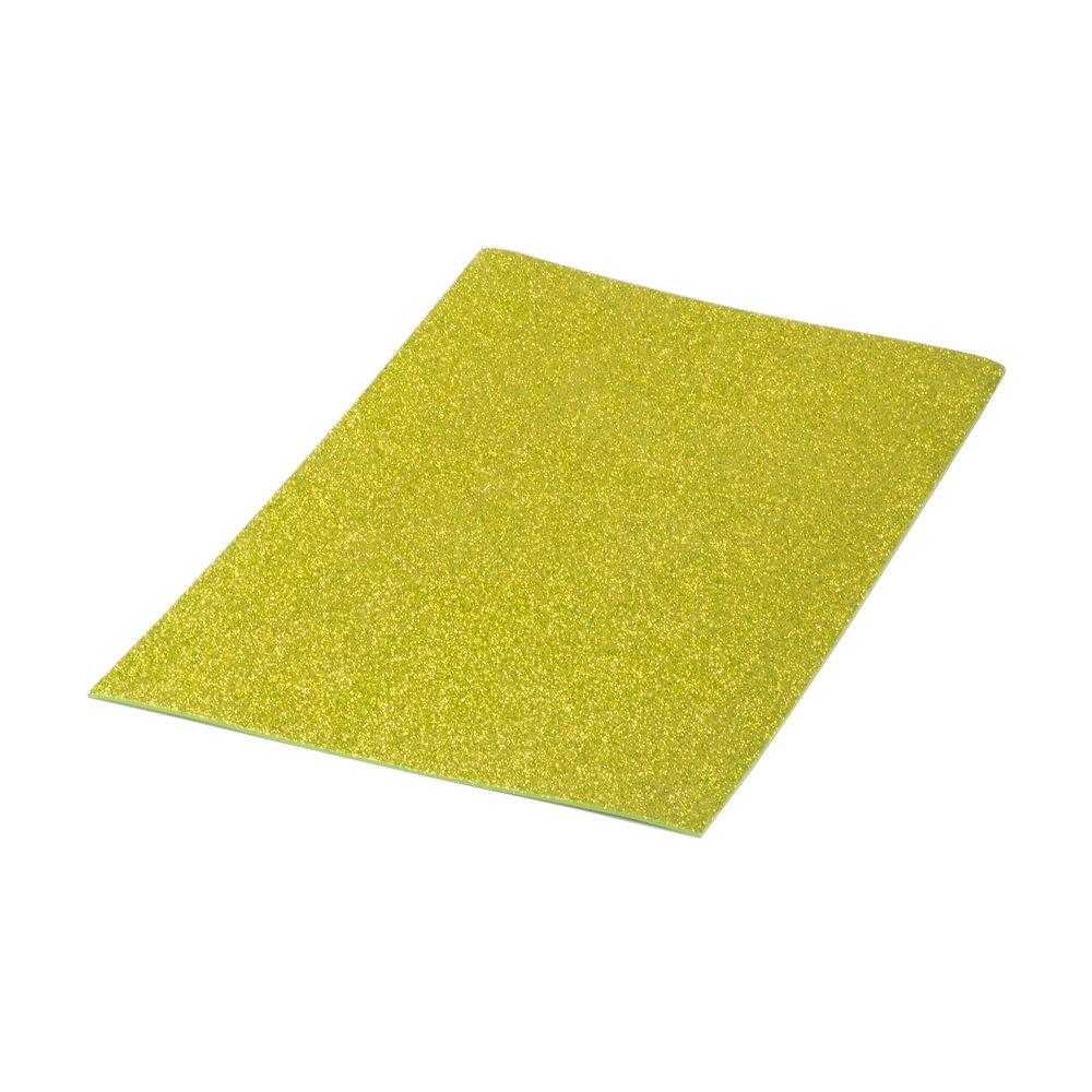 Pryse Eva–Gomma Con Brillantini, 40x 60cm, colore: oro purpureo 5020125