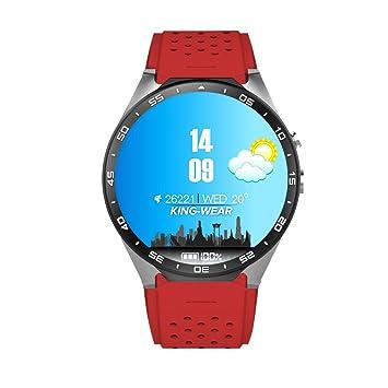 KW88 MTK6580,1.3GHz,4 GB ROM,512MB RAM,3G WIFI Smartwatch Teléfono ...