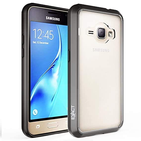 online retailer b7a4c bd809 Galaxy J1 Case , Galaxy Amp 2 Case , Galaxy Express 3 Case ,Exact [PRISM  Series][Scratch Resistant]Protective Slim-Fit Transparent Case for Samsung  ...