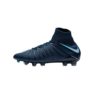 8ed6f5271c3 Amazon.com  Nike Youth Hypervenom Phantom III DF FG Cleats  Obsidian ...