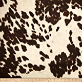 Arts & Crafts : Udder Madness Cow Upholstery Milk Fabric By The Yard