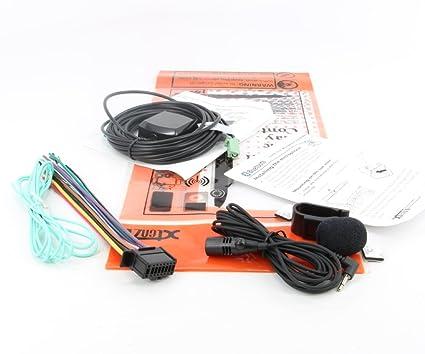 amazon com xtenzi connection cable set for pioneer sph da210 da110 rh amazon com Car Dash Car Stereo