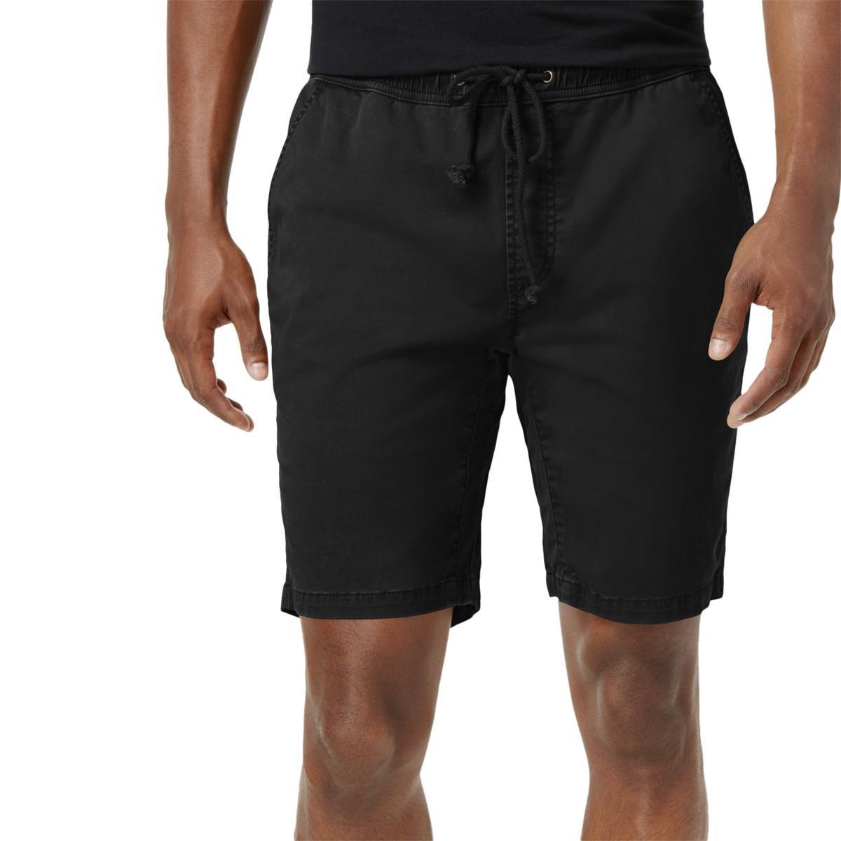 American Rag Mens Classic-Fit Stretch Casual Shorts Black XXL