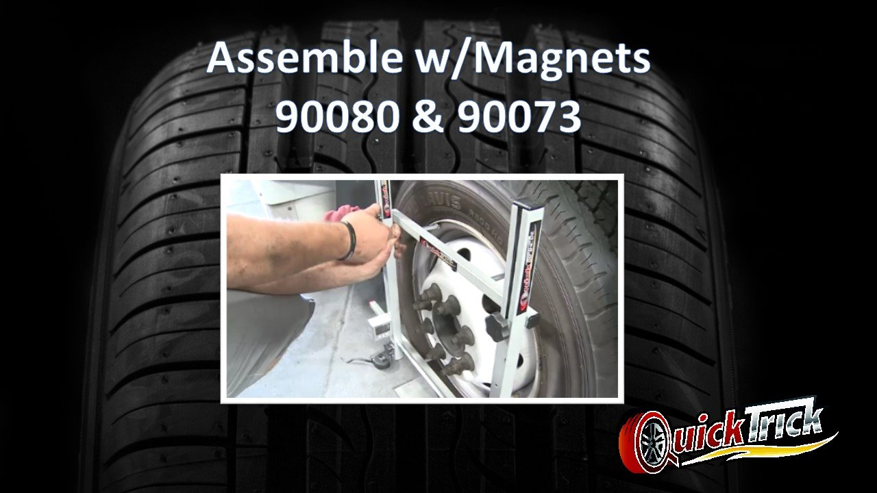 Large Wheel Alignment Kit Complete for both sides - Truck, Semi, Bus, Firetruck by QuickTrick (Image #9)