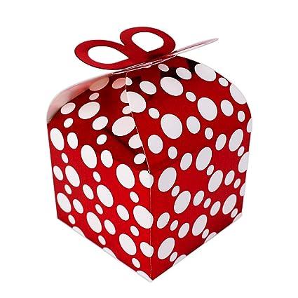 132105 - Pack de 12 Cajitas de regalo cumpleaños pequeña ...
