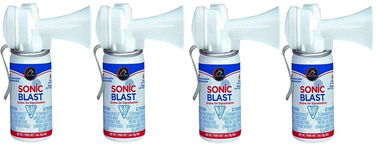 Falcon Safety Products FSB1 Sonic Blast with Clip - 1 oz.