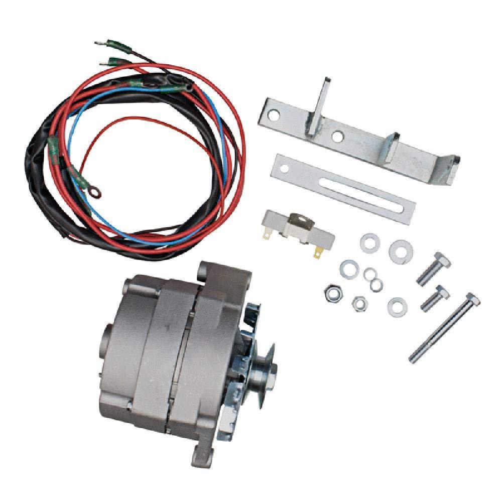 6 to 12 volt wiring on farmall tractors amazon com akt0003 alternator conversion kit for farmall case ih  akt0003 alternator conversion kit