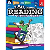 180 Days of Reading for Fourth Grade (Ages 8 - 10) Easy-to-Use 4th Grade Workbook to Improve Reading Comprehension Quickly, Fun Daily Phonics Practice for 4th Grade Reading (180 Days of Practice)