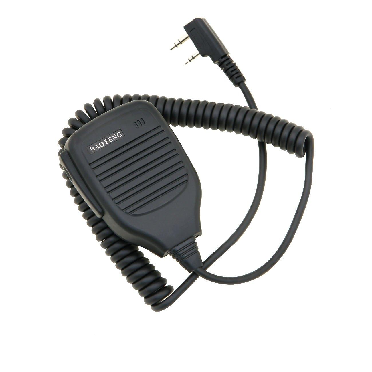 Baofeng Original Handheld Speaker Two Way Radio Speaker Microphone UV 5R 5RA 5RE 5R Plus ' 799666026737