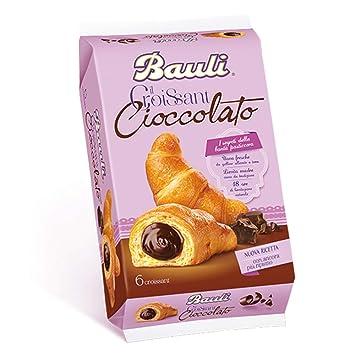 BAULI Croissant llenado galletas y dulces de chocolate GR300 x6: Amazon.es: Hogar