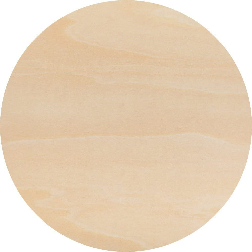 Wooden Circle 13 Inch x 1//8 in Thick Plywood Rounds by Woodpeckers