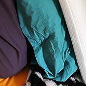 Amazon Com Slim Sleeper Memory Foam Best Flat Pillow