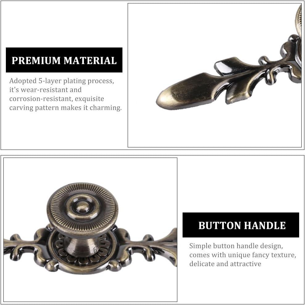 8 PCS Vintage Direction En Forme de Cuisine Armoire Poign/ées Armoire Placard Meubles Tiroir Bouton de Tirer Beetest/®