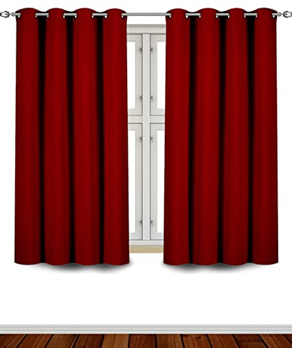 Utopia Bedding   Blackout Room Darkening And Thermal Insulating Window  Curtains/Panels/Drapes