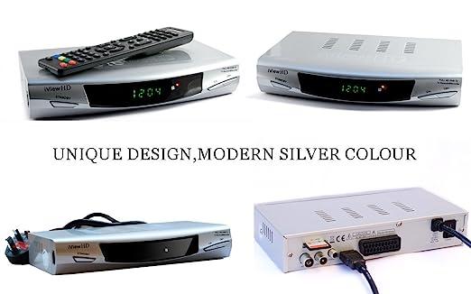 HDMI 1080p Freeview Digital TV Receiver Tuner Set Top Digi Box Terrestrial + USB and SD Slot TV Schedule Program Recorder + MP4 MKV H.264 Multi Media Video ...