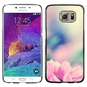 Plastic Shell Protective Case Cover || Samsung Galaxy S6 SM-G920 || Nature Blurry Floral @XPTECH